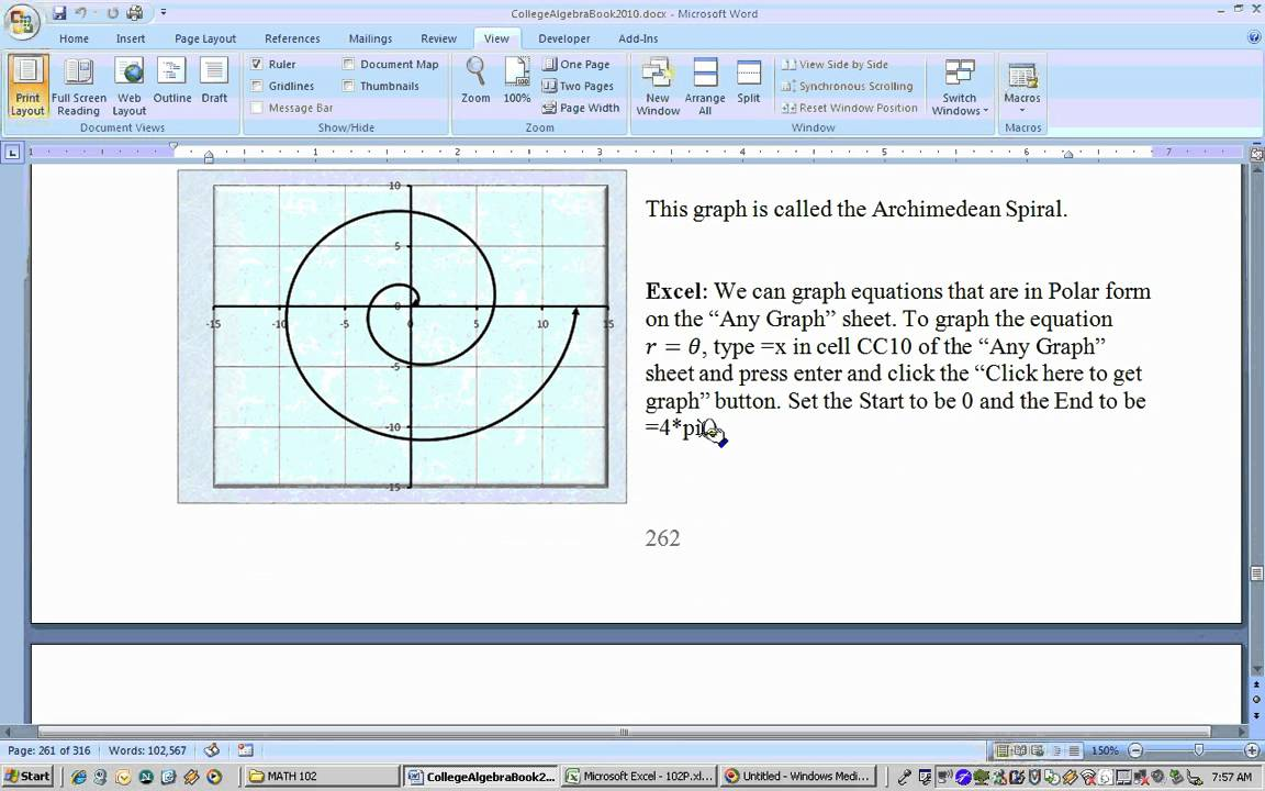 551 polar coordinates and graphs using excel part 1 youtube 551 polar coordinates and graphs using excel part 1 ccuart Image collections