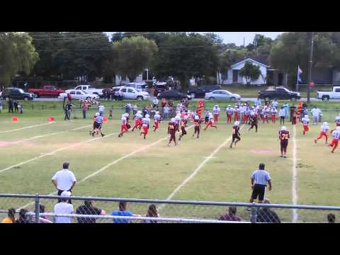Long td pass by Faulk middle school qb #11