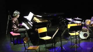 """Live piano suite at """"Piccolo Teatro"""", Catania. Pianist: Ninni Spina."""
