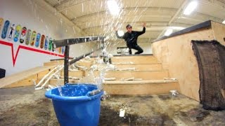 ULTIMATE WATERPROOF SPEAKER TRICK SHOT!