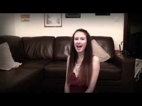 Beautiful - Christina Aguilera - 14 year old Clare Newman cover
