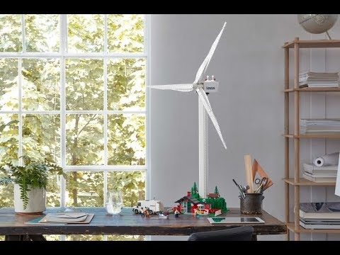 LEGO Creator Expert Vestas Lets You Build A Towering Wind Turbine