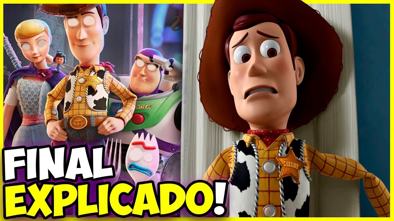 Entenda o Final do Toy Story 4!