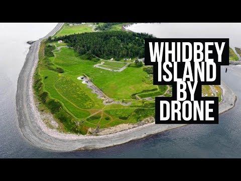 Drone Video of Whidbey Island, Washington