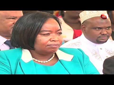 Nine new cabinet secretaries take oath of office