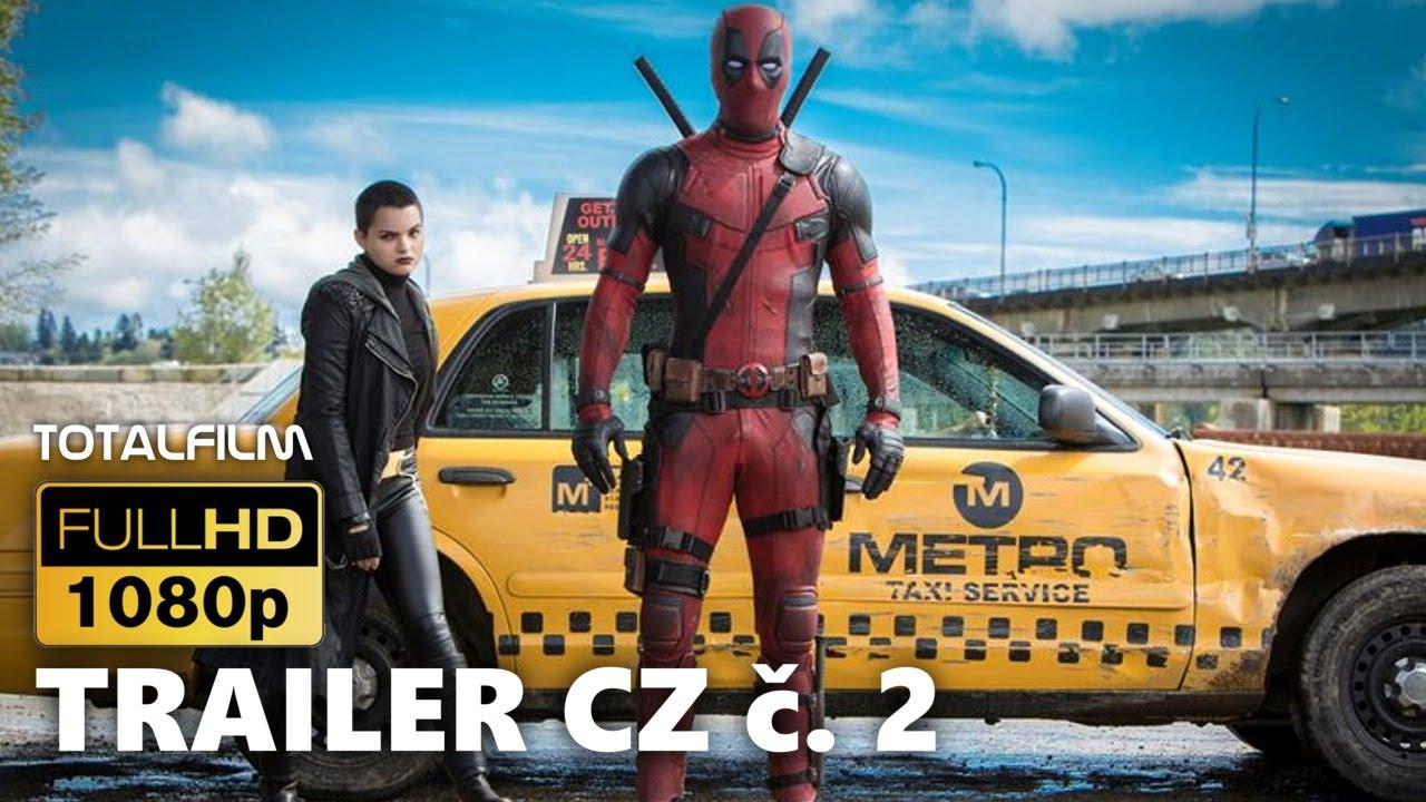 Deadpool (2016) CZ HD trailer č. 2