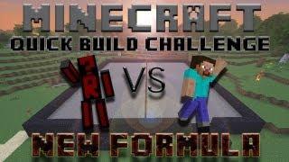 Minecraft Quick Build Challenge - New Formula!