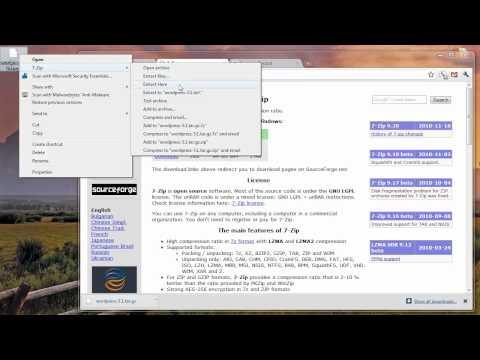 Extract tar.gz on Vista & Win7 (HD)