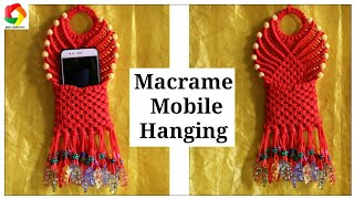 Macrame Mobile Wall Hanging Design #2