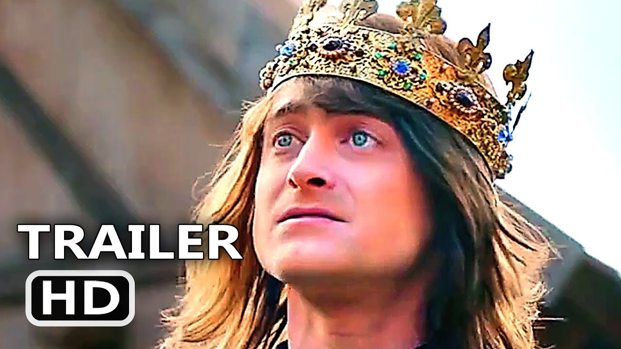 MIRACLE WORKERS Dark Ages Official Trailer  20 NEW, 200200 Daniel Radcliffe  TV Series HD