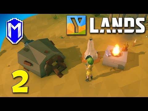 Ylands - Kiln It, Building Blacksmith Forge And Smelting Furnace - Let's Play Ylands Gameplay Ep 2