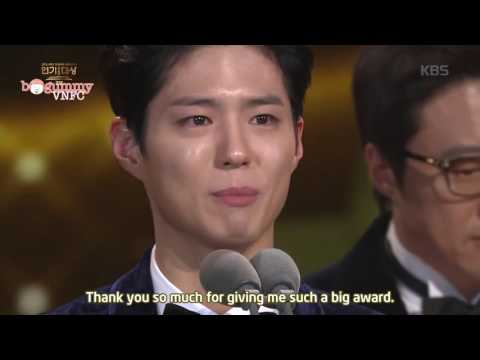 [BogummyVNFC][Engsub] Park Bo Gum - 2016 KBS Drama Awards' Top excellent