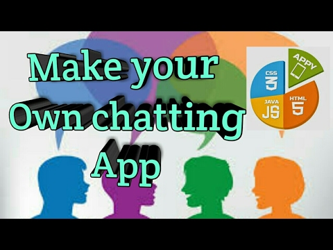 Make Your Own Chatting App( Must Watch)