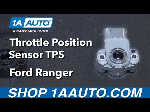 How to Install Replace Throttle Position Sensor TPS 2001 Ford Ranger Buy Auto Parts at 1AAuto.com