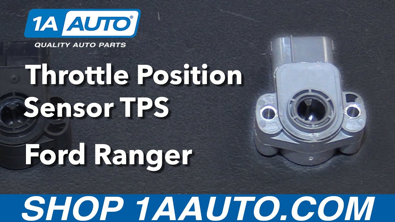 hight resolution of how to install replace throttle position sensor tps 2001 ford ranger buy auto parts at 1aauto com