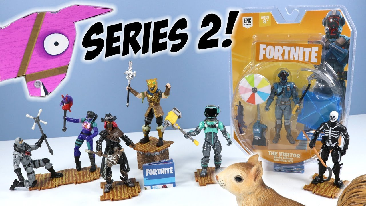 New Fortnite Series 2 Action Figures 4 Toys Jazwares Youtube