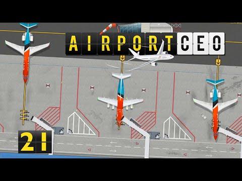 Airport CEO   MEGA Umbau beginnt ► #21 Flughafen Bau Management Simulation deutsch german