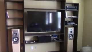 How To Build A Built In Entertainment Center
