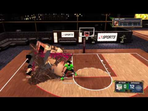 NBA 2K17 Beating a Hacker!!