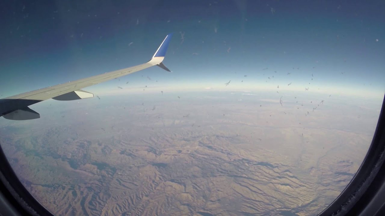 low priced 87c35 28299 United Airlines Full Flight Houston to Los Angeles with ATC