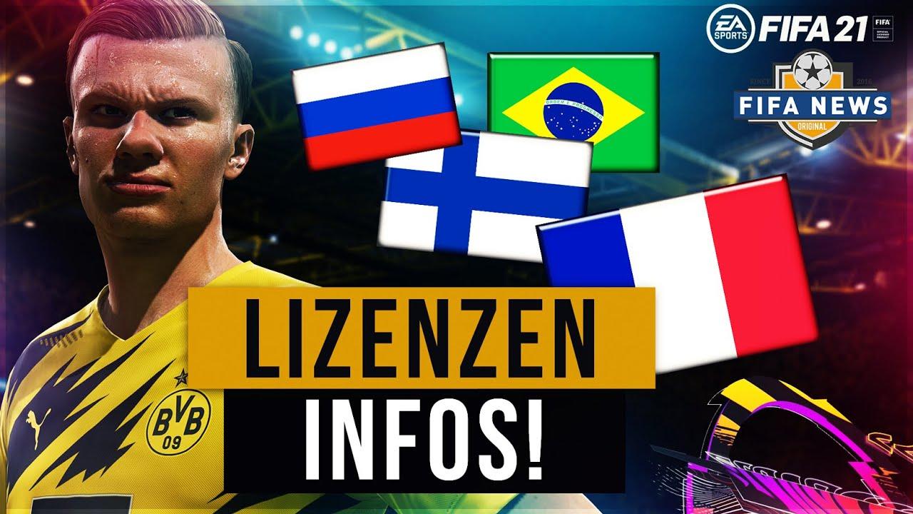 FIFA 21 NEWS ● LIZENZEN INFOS ? BVB HAUT NEN KNALLER RAUS!