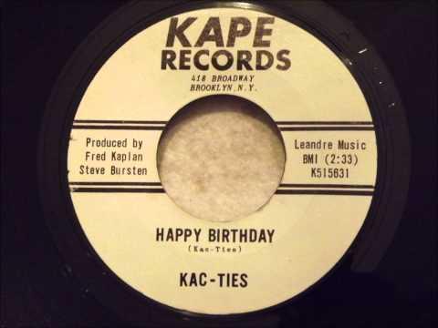 Kac-Ties - Happy Birthday - Killer Brooklyn Doo Wop Ballad Mp3