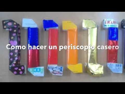 Periscopio Casero Youtube