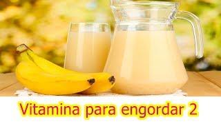 Vitamina para engordar rápido / Como engordar em menos de 30 dias - Paula Mizael