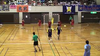 2012全九州ハンドボール 熊本国府vs興南 後半