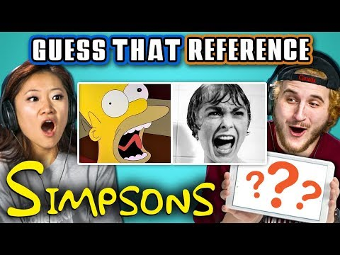 Guess That Simpsons Reference Challenge (React)