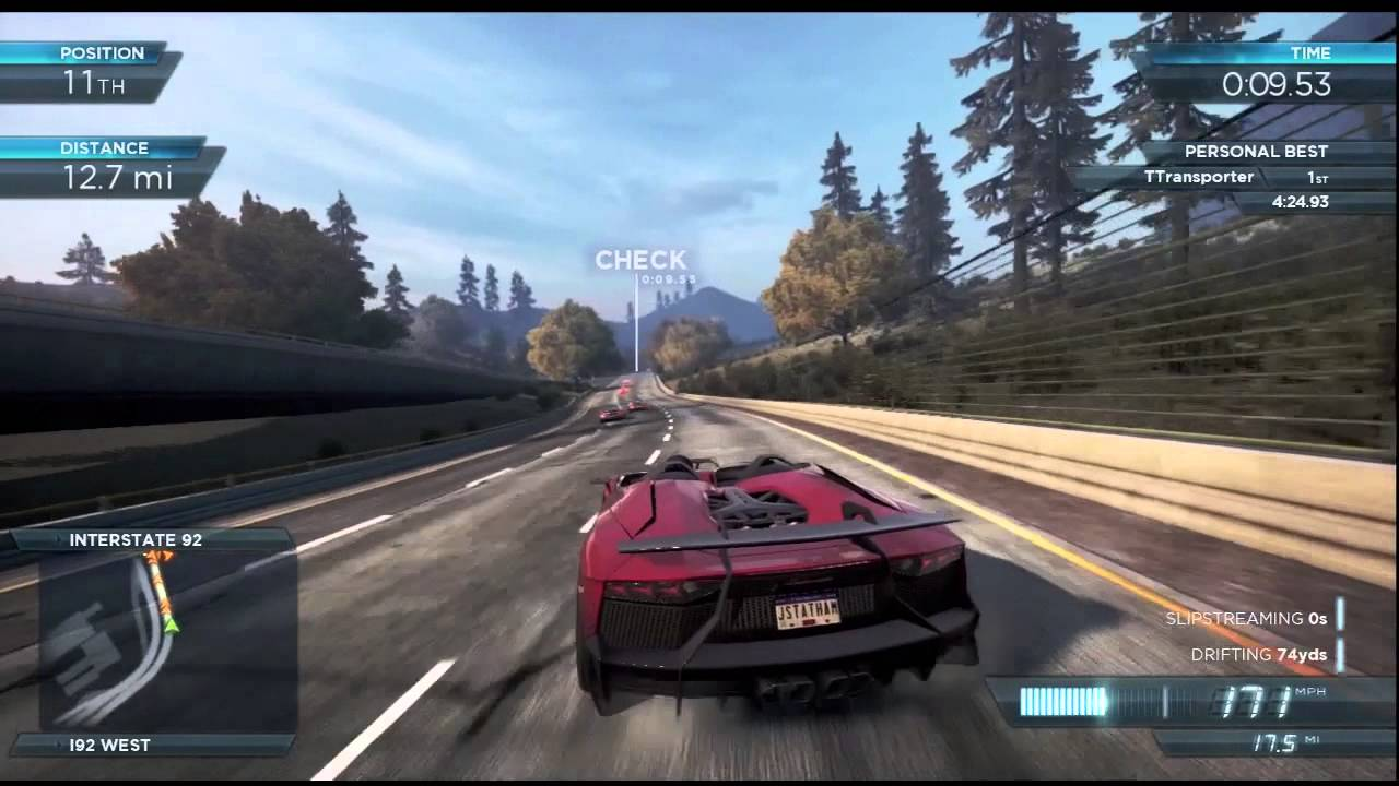 Need For Speed Most Wanted 2012 Xbox 360 Lamborghini Aventador