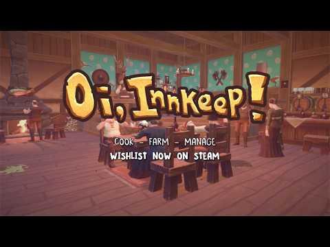 Oi, Innkeep! Teaser Trailer