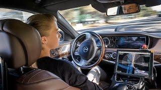 Mercedes Autonomous Driving - S500 Intelligent Drive