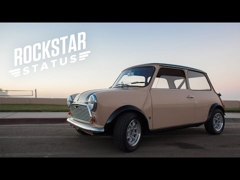 The Mini Cooper Has Rockstar Status