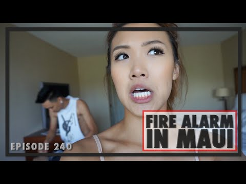 Ep.240 Fire Alarm In Maui   WahlieTV