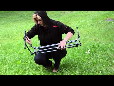 TASKA Carp A Type - Gun Metal Rod Pod