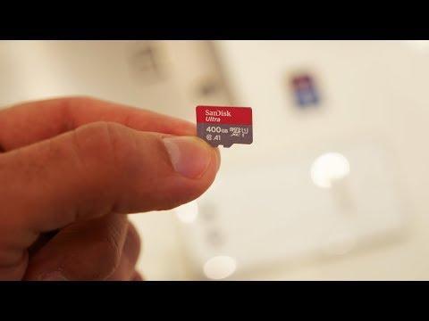 Ставим в смартфон флешку на 400 ГБ