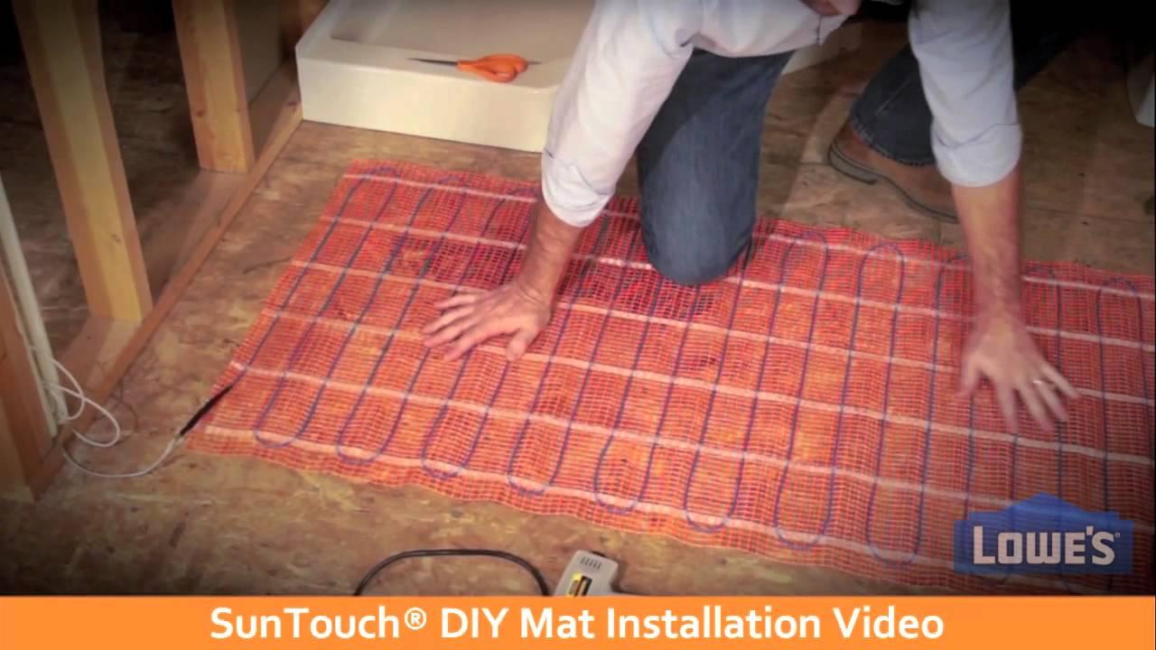 Heated Tile Floor Lowes | Tile Design Ideas