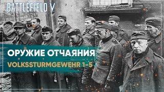 Sturmgewehr 1-5. Фольксштурмгевер 1-5. Винтовка ополченца Battlefield 5
