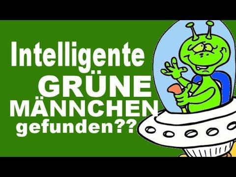 Grüne Männchen : Intelligentes Leben gefunden !?? Unterhaltungssatire