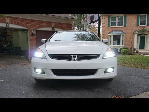 [2006-07] Honda Accord | LED Fog Light Install