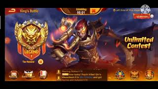 Dynasty Heroes - #16 King's Battle Div 12 Tips Line Up & Insignia (Gold Heroes & Insignia Update)