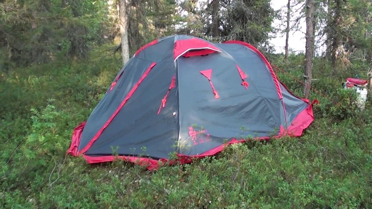 Палатка TRAMP Mountain 2 - YouTube
