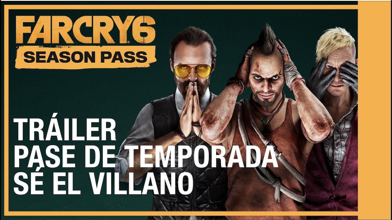 Far Cry 6: Pase de Temporada Tráiler | Sé el Villano | #UbiForward | Ubisoft LATAM