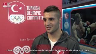"""Milli boksörümüz Onur Şipal, """"Artık hedef sadece Olimpiyatlara katılmak değil, altın madalya."""""""
