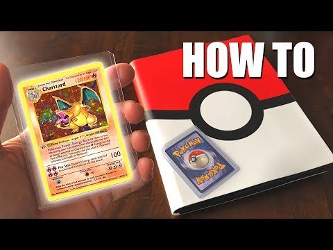 How To Protect & Organize Pokemon Cards (2018)