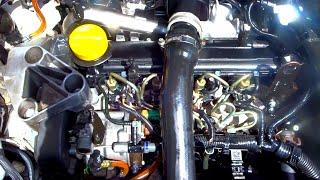 dementage moteur megane 1 5 dci - فك محرك السيارة