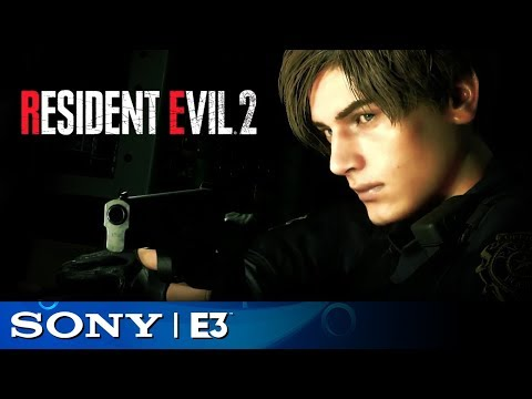 Resident Evil 2 Full Reveal   Sony E3 2018