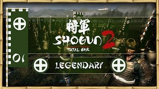 Let's Play Total War: Shogun 2 (Legendary) - Shimazu - Ep.01 - Heroic Victory!