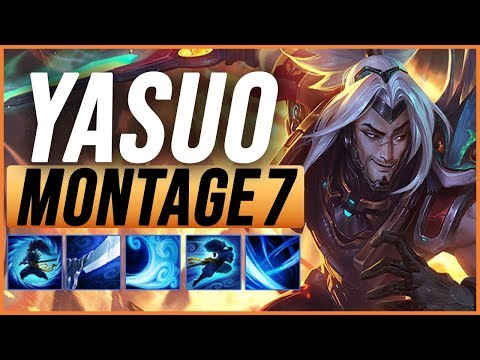 Yasuo Montage 7 - Best Yasuo Plays pre-season 9 - League of Legends thumbnail